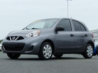 Used 2017 Nissan Micra S HATCHBACK MANUEL for sale in St-Georges, QC