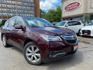 Used 2016 Acura MDX NAVI | CAM | ELITE PKG | TOP OF THE LINE | for sale in Scarborough, ON