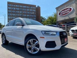 Used 2016 Audi Q3 PREM PKG | QUATTRO | LEATHER | PANO ROOF | for sale in Scarborough, ON