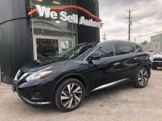 Used 2015 Nissan Murano Platinum 4dr AWD Sport Utility for sale in Winnipeg, MB