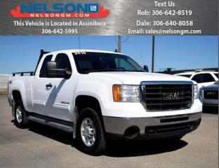 Used 2010 GMC Sierra 2500 HD SLE for sale in Avonlea, SK