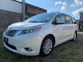 Used 2015 Toyota Sienna LIMITED NAVI PANO ROOF BLIND SPOTS REAR CAM for sale in North York, ON