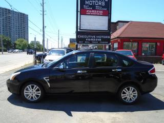 Used 2009 Ford Focus SEL/ LEATHER/ ROOF / ALLOYS / CERTIFIED / MINT/ for sale in Scarborough, ON