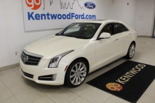 Used 2014 Cadillac ATS 3 month deferral *oac | Premium | AWD | Sunroof | LUXURY! for sale in Edmonton, AB