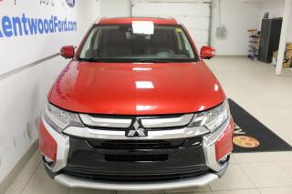 Used 2017 Mitsubishi Outlander GT | AWD | Heated Leather Seats | Sunroof | LOW KM! for sale in Edmonton, AB