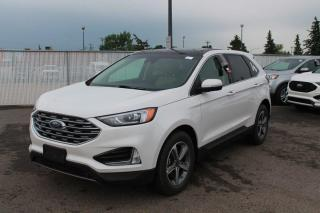 New 2020 Ford Edge SEL AWD | Twin Panel Moonroof | Heated Cloth Bucket Seats for sale in Edmonton, AB