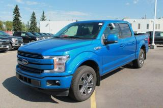 New 2020 Ford F-150 LARIAT 502A 4X4 SuperCrew 2.7L Ecoboost with Auto Start/Stop, Lane Keeping System, Pre-Collision Assist, Rear View Camera, Remote Keyless Entry, and Remote Vehicle Start for sale in Edmonton, AB