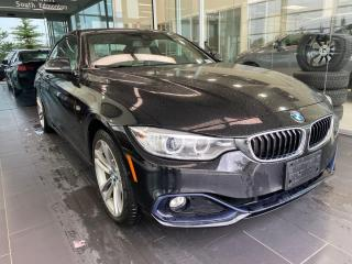Used 2017 BMW 4 Series 430i xDrive, ACCIDENT FREE, NAVIGATION, SAFETY TECH for sale in Edmonton, AB