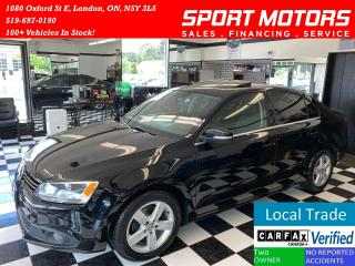 Used 2013 Volkswagen Jetta Comfortline+TDI+Sunroof+New Tires+A/C+AccidentFree for sale in London, ON
