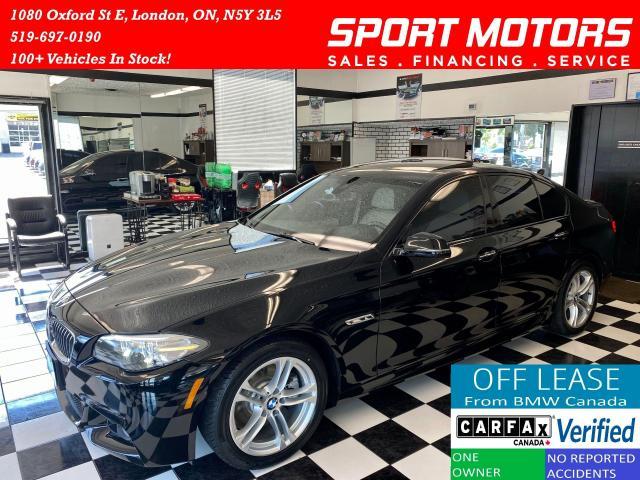 2016 BMW 5 Series 528i+M PKG+TECH PKG+Adaptive Cruise+Accident Free