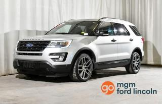 Used 2017 Ford Explorer Sport 4WD for sale in Red Deer, AB