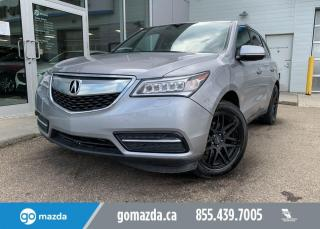 Used 2016 Acura MDX Nav Pkg for sale in Edmonton, AB