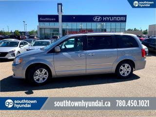 Used 2016 Dodge Grand Caravan CREW/BACKUP CAM/NAVI/HEATED SEATS for sale in Edmonton, AB