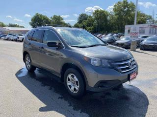 Used 2013 Honda CR-V LX 4dr AWD 5 Door for sale in Brantford, ON