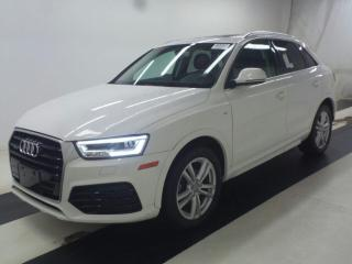 Used 2016 Audi Q3 LEATHER | ROOF | QUATTRO | BLUE TOOTH | DUAL DVD | for sale in Scarborough, ON