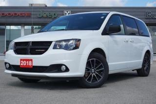 Used 2018 Dodge Grand Caravan SXT | BLACKTOP | DVD | REAR CAM | BLUETOOTH for sale in Listowel, ON