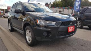 Used 2010 Mitsubishi Outlander ES-EXTRA CLEAN-4X4-BLUETOOTH-AUX-ALLOYS for sale in Scarborough, ON