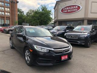 Used 2016 Honda Civic LX for sale in Scarborough, ON