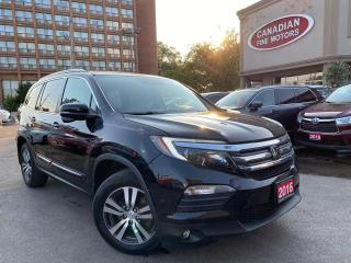 Used 2016 Honda Pilot ONE OWNER | NAVI | CAM | ROOF | PDC | DUAL DVD | for sale in Scarborough, ON