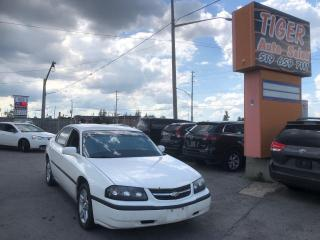 Used 2005 Chevrolet Impala **ALLOY WHEELS**DRIVES GREAT**AS IS SPECIAL for sale in London, ON
