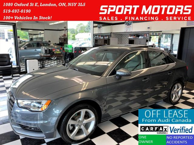 2016 Audi A3 2.0T Quattro+Roof+Xenons+New Brakes+Accident Free