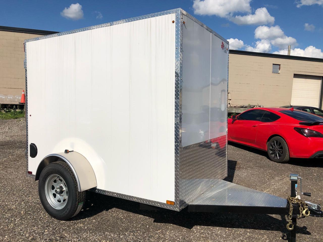 2020 Canadian Trailer Company 5x8 Flat Nose Cargo Trailer