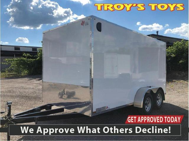 2020 Canadian Trailer Company 7x14 Flat Nose Cargo Trailer