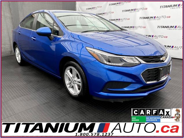 2018 Chevrolet Cruze LT+Camera+Heated Seats+Remote Start+Apple Play+XM