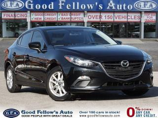 Used 2016 Mazda MAZDA3 GS MODEL, SKYACTIV,POWER MOONROOF WITH RETRACTABLE for sale in Toronto, ON