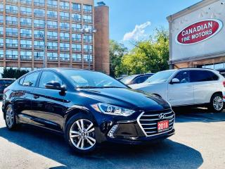 Used 2018 Hyundai Elantra CLEAN CARFAX | WARRANTY | CAR PLAY | CAM | ROOF for sale in Scarborough, ON