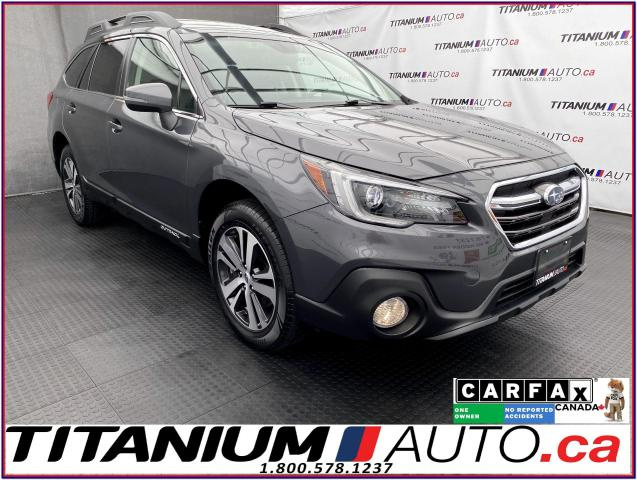 2018 Subaru Outback 3.6R LIMITED+EyeSight+GPS+Camera+Leather+BSM+LDW