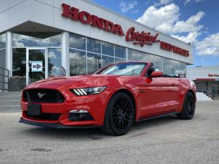 Used 2016 Ford Mustang GT Premium RARE 6 SPD V8 CONVERTABLE for sale in Winnipeg, MB
