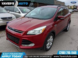 Used 2013 Ford Escape SEL for sale in Hamilton, ON