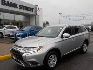 Used 2019 Mitsubishi Outlander ES AWC 10YR WARRANTY  AWD I APPLE / ANDROID AUTO for sale in Gloucester, ON