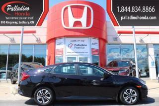 Used 2016 Honda Civic Sedan LX-CERTIFIED-LOW KM- for sale in Sudbury, ON