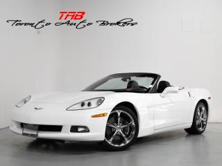 Used 2013 Chevrolet Corvette I CONVERTIBLE I 60TH ANNIVERSARY I LS3 I CLEAN CAR for sale in Vaughan, ON