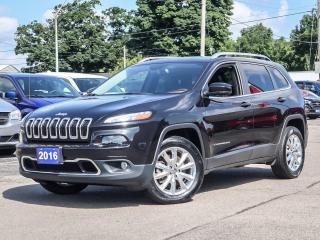 Used 2016 Jeep Cherokee LIMITED | NAVIGATION | LEATHER | TOW PKG for sale in Simcoe, ON