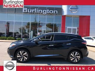 Used 2016 Nissan Murano Platinum for sale in Burlington, ON