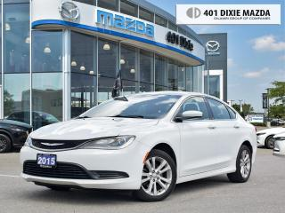 Used 2015 Chrysler 200 LX |ONE OWNER|NO ACCIDENTS|FINANCING AVAILABLE for sale in Mississauga, ON