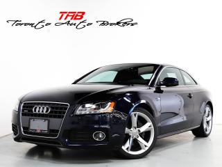 Used 2011 Audi A5 2.0T I S-LINE I SUNROOF I 1-OWNER I LOCAL for sale in Vaughan, ON