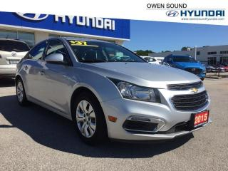 Used 2015 Chevrolet Cruze LT for sale in Owen Sound, ON