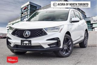 Used 2020 Acura RDX SH-AWD A-Spec at No Accident| Remote Start| Apple for sale in Thornhill, ON