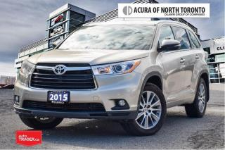 Used 2015 Toyota Highlander XLE AWD No Accident| Navigation| Bluetooth for sale in Thornhill, ON