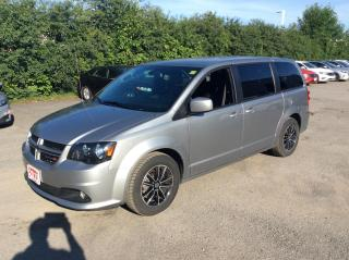 Used 2019 Dodge Grand Caravan GT - LEATHER - POWER DOORS - AUTOSTART! for sale in Ottawa, ON