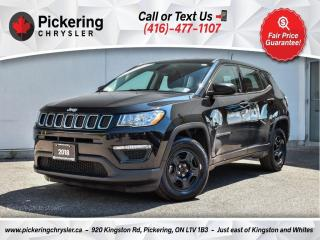 Used 2018 Jeep Compass Sport - AC/Manual/Bluetooth/Power Windows for sale in Pickering, ON