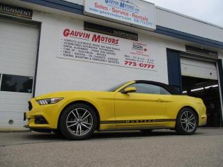 Used 2016 Ford Mustang EcoBoost Premium Convertible for sale in Swift Current, SK