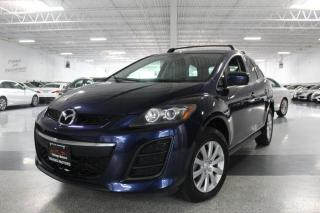Used 2010 Mazda CX-7 LEATHER I SUNROOF I HEATED SEATS I KEYLESS ENTRY I BT for sale in Mississauga, ON