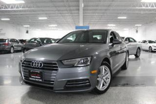 Used 2017 Audi A4 QUATTRO I NO ACCIDENTS I SUNROOF I HEATED SEATS I LEATHER for sale in Mississauga, ON