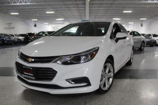 Used 2017 Chevrolet Cruze PREMIER NO ACCIDENTS I LEATHER I REAR CAM I BIG SCREEN I BT for sale in Mississauga, ON