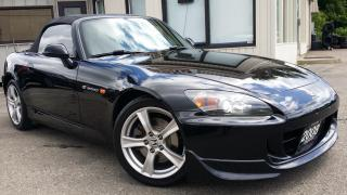 Used 2008 Honda S2000 6-Speed MT - LEATHER! ACCIDENT FREE! ONLY 72KM! for sale in Kitchener, ON
